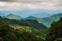 Parque nacional do Monte Kinabalu, Sabah Borneo, Malásia Fotos de Stock Royalty Free
