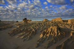 Parque nacional do Mungo, NSW, Austrália Fotografia de Stock