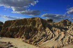 Parque nacional do Mungo, NSW, Austrália Fotografia de Stock Royalty Free