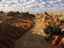 Parque nacional do Mungo, NSW, Austrália Fotos de Stock Royalty Free