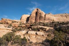 Parque nacional do recife principal da ab?bada do Navajo, Ut? fotografia de stock
