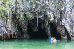 Parque nacional do rio subterrâneo Fotografia de Stock Royalty Free