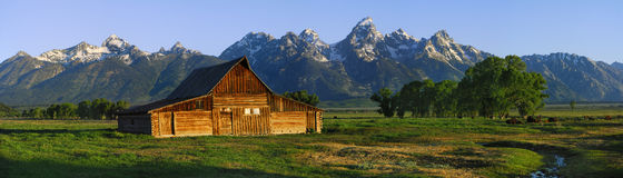 Parque nacional do teton grande Imagem de Stock Royalty Free