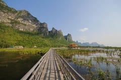 Parque nacional do yod do roi de Khao sam, Tailândia Fotografia de Stock