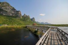 Parque nacional do yod do roi de Khao sam, Tailândia Imagens de Stock