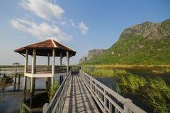 Parque nacional do yod do roi de Khao sam, Tailândia Foto de Stock Royalty Free