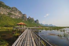 Parque nacional do yod do roi de Khao sam, Tailândia Foto de Stock