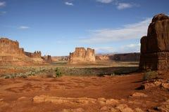 Parque nacional dos arcos Fotografia de Stock Royalty Free