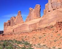 Parque nacional dos arcos imagem de stock royalty free