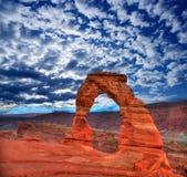 Parque nacional dos arcos no deserto Moab Utá EUA Foto de Stock Royalty Free