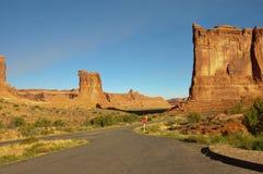Parque nacional dos arcos; Utá; EUA Fotos de Stock Royalty Free