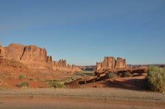 Parque nacional dos arcos; Utá; EUA Foto de Stock Royalty Free