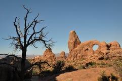 Parque nacional dos arcos; Utá; EUA Imagem de Stock