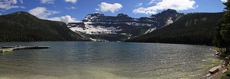 Parque nacional dos lagos bonitos Waterton Fotos de Stock Royalty Free