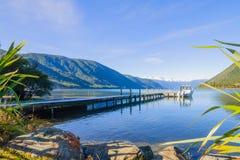 Parque nacional dos lagos Nelson fotos de stock