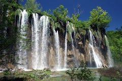 Parque nacional dos lagos Plitvice Foto de Stock