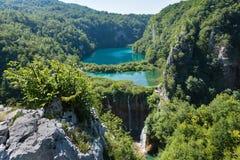 Parque nacional dos lagos Plitvice (Croatia) imagens de stock
