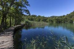 Parque nacional dos lagos Plitvice - Croácia Imagens de Stock Royalty Free