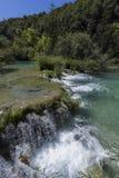 Parque nacional dos lagos Plitvice - Croácia Imagem de Stock Royalty Free