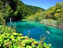 Lagos parque nacional Plitvice, Croatia Imagens de Stock Royalty Free
