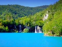 Lagos parque nacional Plitvice, Croatia Imagem de Stock Royalty Free