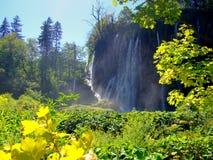 Lagos parque nacional Plitvice, Croatia Foto de Stock Royalty Free