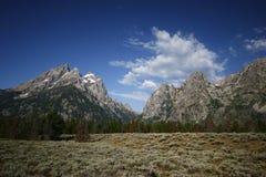 Parque nacional dos tetons grandes Foto de Stock Royalty Free