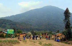 Parque nacional dos vulcões Fotografia de Stock Royalty Free