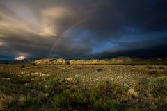 Parque nacional en Colorado, los E.E.U.U. Fotografía de archivo