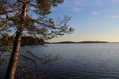 Parque nacional en Finlandia imagen de archivo libre de regalías