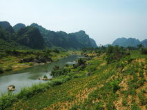 Parque nacional en Vietnam imagenes de archivo