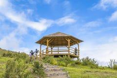 Parque nacional Equador de Cotopaxi imagens de stock