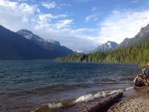 Parque Nacional Glacier fotografía de archivo libre de regalías