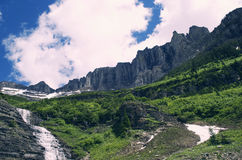 Parque Nacional Glacier Fotografía de archivo