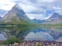 Parque Nacional Glacier Foto de archivo libre de regalías