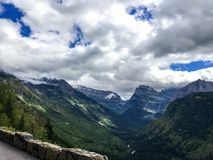 Parque Nacional Glacier Imágenes de archivo libres de regalías