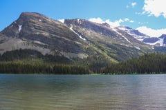 Parque Nacional Glacier Imagen de archivo libre de regalías