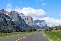 Parque Nacional Glacier Imagenes de archivo