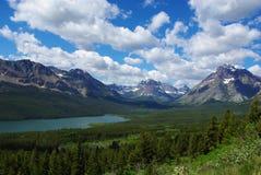 Parque Nacional Glacier, Montana Foto de archivo libre de regalías