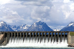 Parque nacional grande de Teton Foto de Stock Royalty Free