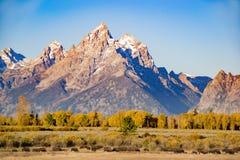 Parque nacional grande de Teton imagens de stock royalty free