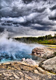Tempestade de Yellowstone Fotos de Stock Royalty Free