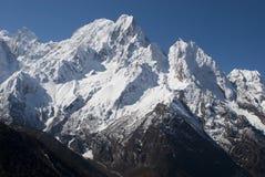 Parque nacional Himalaia de Manaslu fotografia de stock
