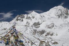 Parque nacional Himalaia de Manaslu imagens de stock