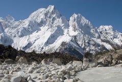 Parque nacional Himalayan de Manaslu Fotos de archivo libres de regalías