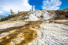 Parque nacional Hot Springs de Yellowstone Imagem de Stock