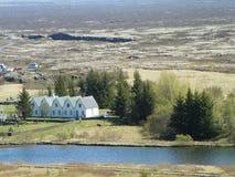 Parque nacional Islandia de Thingvellir fotos de archivo