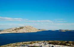 Parque nacional Kornati Fotos de archivo libres de regalías