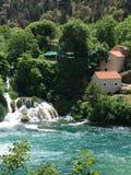 Parque nacional Krka Imagem de Stock Royalty Free