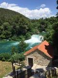Parque nacional Krka Fotos de archivo libres de regalías
